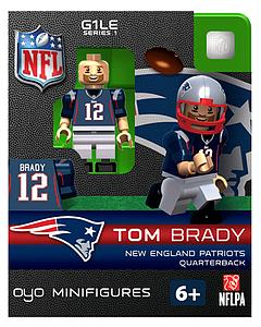 NFL Football Minifigures: Tom Brady (New England Patriots)