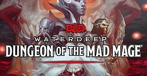 Dungeons & Dragons Roleplaying Game Waterdeep Dungeon of the Deep: Map Set