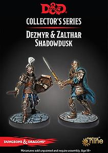 Dungeons & Dragons Waterdeep: Dungeon of the Mad Mage - Dezmyr & Zalthar Shadowdusk