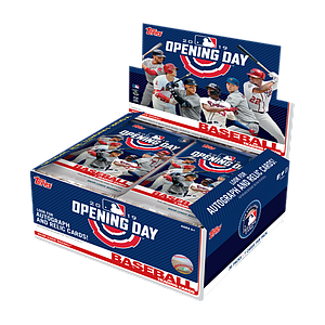 2019 MLB Opening Day Baseball Hobby Box