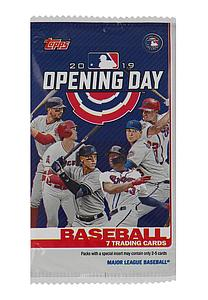 2019 MLB Opening Day Baseball Hobby Pack