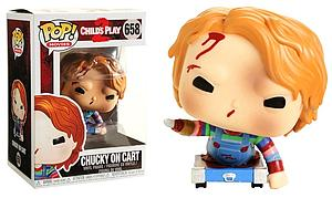 Pop! Movies Child's Play 2 Vinyl Figure Chucky on Cart #658 Exclusive (No Sticker)