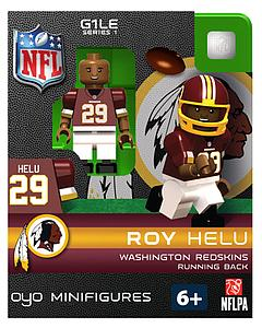 NFL Football Minifigures: Roy Helu (Washington Redskins)