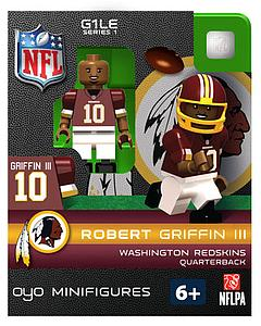 NFL Football Minifigures: Robert Griffin III (Washington Redskins)