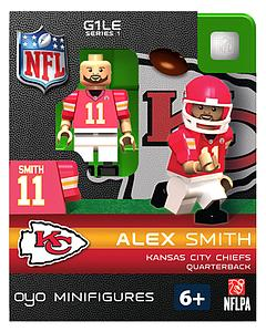 NFL Football Minifigures: Alex Smith (Kansas City Chiefs)