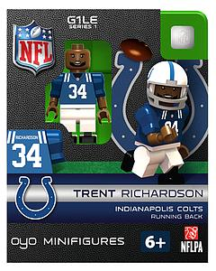 NFL Football Minifigures: Trent Richardson (Indianapolis Colts)