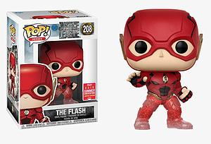 Pop! Heroes Justice League Movie Vinyl Figure The Flash (Running) #208 2018 Summer Convention Exclusive