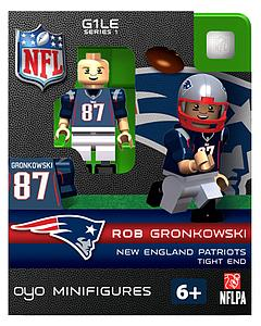 NFL Football Minifigures: Rob Gronkowski (New England Patriots)