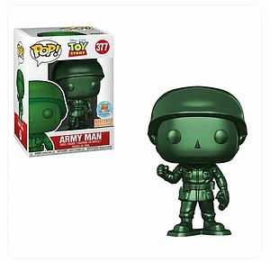 Pop! Disney Toy Story Vinyl Figure Army Man (Metallic) #377 BoxLunch Exclusive