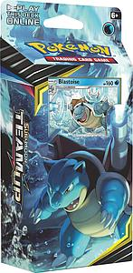 Pokemon Trading Card Game: Sun & Moon (SM9) Team Up Theme Deck - Torrential Cannon (Blastoise)