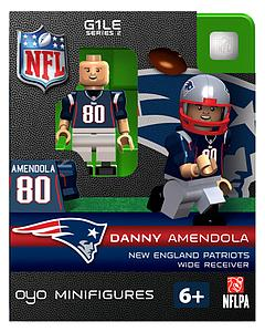NFL Football Minifigures: Danny Amendola (New England Patriots)