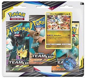 Pokemon Trading Card Game: Sun & Moon (SM9) Team Up 3-Pack Blister B