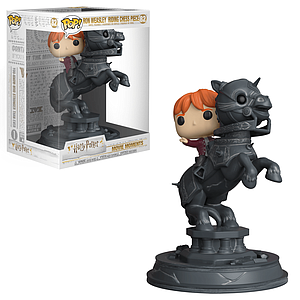 Pop! Movie Moments Harry Potter Vinyl Figure Ron Weasley Riding Chess Piece #82