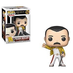 Pop! Rocks Queen Vinyl Figure Freddie Mercury (Wembley 1986) #96