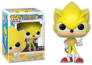 Pop! Games Sonic the Hedgehog Vinyl Figure Super Sonic #287 GameStop Exclusive