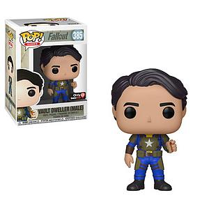Pop! Games Fallout Vinyl Figure Vault Dweller (Male) (Mentats) #385 GameStop Exclusive (EB Games Sticker)