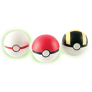 Pokemon Throw N' Catch Pokeball (3-pack)