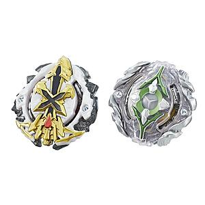 Beyblade Burst Evolution Dual Pack: Xcalius X2 (Attack Type) and Yegdrion Y2 (Stamina Type)