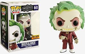 Pop! Movies Beetlejuice Vinyl Figure Beetlejuice (Wedding Outfit) #641 Hot Topic Exclusive
