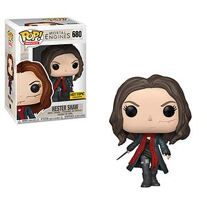 Pop! Movies Mortal Engines Vinyl Figure Hester Shaw (Unmasked) #680 Hot Topic Exclusive