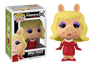 Pop! Disney Muppets Most Wanted Vinyl Figure Miss Piggy #02 (Retired)