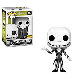 Pop! Disney Nightmare Before Christmas Vinyl Figure Jack Skellington (Diamond Collection) #15 Hot Topic Exclusive