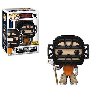 Pop! Television Stranger Things Vinyl Figure Dustin (Hockey Gear) #719 Hot Topic Exclusive