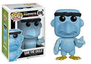 Pop! Disney Muppets Most Wanted Vinyl Figure Sam the Eagle #09 (Vaulted)