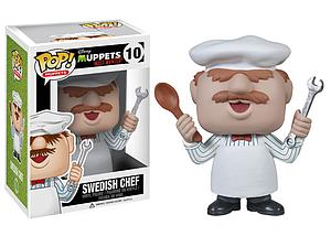 Pop! Disney Muppets Most Wanted Vinyl Figure Swedish Chef #10 (Vaulted)