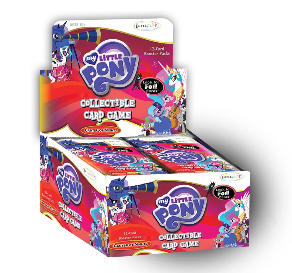My Little Pony Collectible Card Game Canterlot Nights Booster Box (36 Packs)