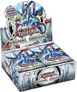 YuGiOh Trading Card Game: Primal Origin Booster Box