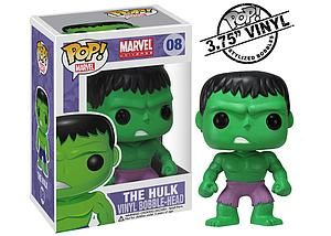 Pop! Marvel Universe Vinyl Bobble-Head The Hulk #08 (Retired)