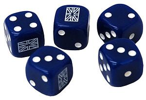 World War II United Kingdom Dice Pack