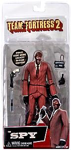 "Valve Team Fortress 2 RED 7"" Spy"