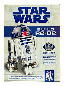 Star Wars Build R2-D2 Deluxe Papermodel Kit