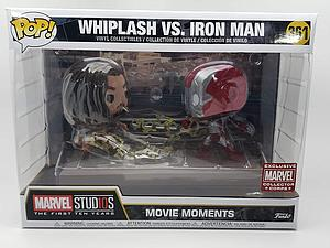 Pop! Movie Moments Marvel Iron Man 2 Vinyl Bobble-Head Whiplash vs. Iron Man #361 Exclusive