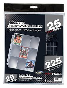 Hologram 9-Pocket Pages (25 pages)