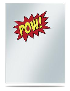 Gamers: POW! - Sleeve Covers for Standard (69mm x 94mm)