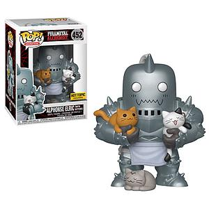 Pop! Animation Fullmetal Alchemist Vinyl Figure Alphonse Elric (with Kittens) #452 Hot Topic Exclusive