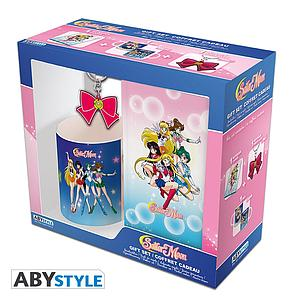 Sailor Moon Gift Set (Mug, Keychain & Notebook)