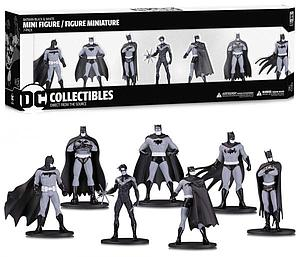 Batman Black & White - 7-Piece Set