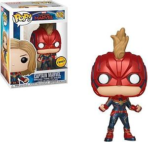 Pop! Marvel Captain Marvel Vinyl Bobble-Head Captain Marvel #425 (Chase)