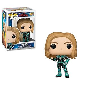 Pop! Marvel Captain Marvel Vinyl Bobble-Head Vers #427