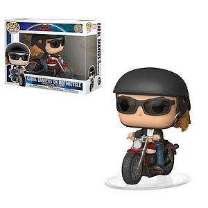 Pop! Rides Marvel Captain Marvel Vinyl Bobble-Head Carol Danvers on Motorcycle #57