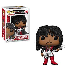 Pop! Rocks Rick James Vinyl Figure Rick James #100