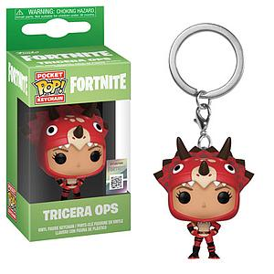 Pop! Pocket Keychain Fortnite Vinyl Figure Tricera Ops
