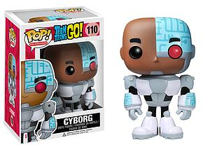 Pop! Television Teen Titans Go! Vinyl Figure Cyborg #110 (Retired)