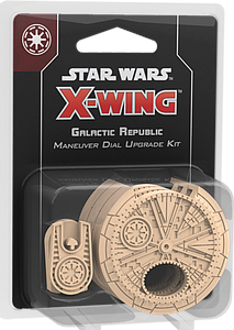 Star Wars: X-Wing Second Edition - Galactic Republic Maneuver Dial Upgrade Kit