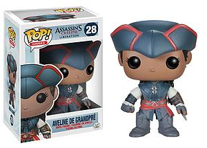 Pop! Games Assassin's Creed III Liberation Vinyl Figure Aveline de Grandpre #28 (Vaulted)