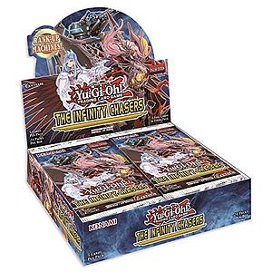 YuGiOh Trading Card Game Pack: Infinity Chasers Booster Box